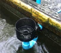 งานติดตั้ง ระบบล้นผิวหน้าน้ำ (สกรีมเมอร์)