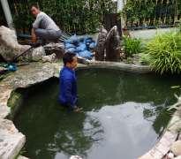 แก้ปัญหาน้ำเขียว บ้านลูกค้าอยู่ รามอินทรา - ลาดพร้าว (คุณสมชัย)