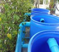 สร้างระบบกรอง บ้านของลูกค้าอยู่ ท่าอิฐ - จ.นนทบุรี (คุณเสกสรร)