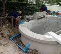 สร้างระบบกรอง บ้านของลูกค้าอยู่ บางกรวย - จ.นนทบุรี (คุณหมู)