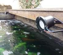 ติดตั้งระบบไฟใต้น้ำ บ้านลุกค้าอยู่ สุขาภิบาล5 - วัชรพล (คุณจตุพงษ์)