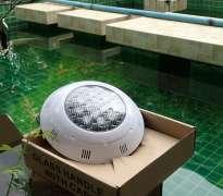 ติดตั้งระบบไฟใต้น้ำ บ้านลูกค้าอยู่ หนองมน - จ.ชลบุรี (คุณนิธิ)