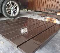 ติดตั้งพื้นไม้ระแนง บ้านของลูกค้าอยู่ มีนบุรี - หทัยราษฎร์ (คุณกอล์ฟ)